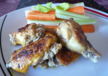 Grilled Blue Cheese Chicken Wings