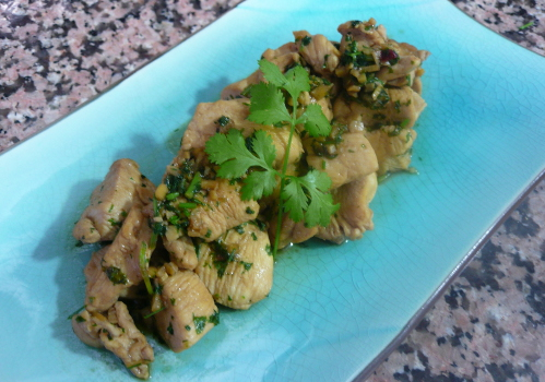 Cilantro Chicken Recipe