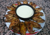 Spicy garlic and parmesan chicken wings