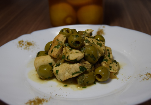 Maroccan Lemon & Olives Chicken